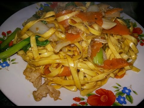 Asian Street Food - Eating See Food Fried Noodles - Sihanoukville On Youtube