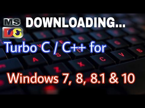 How To Download Turbo C/C++ For Windows 10/8/7/XP | How To Install Turbo C/C++ | In Hindi | Program