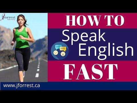 Tips for Speaking English Fast