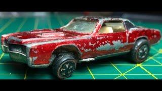Hot Wheels Redline Restoration How-To : 68 Custom Eldorado