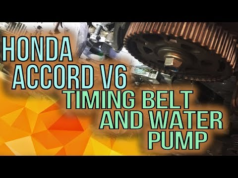 Honda Accord V6 Timing Belt Removal