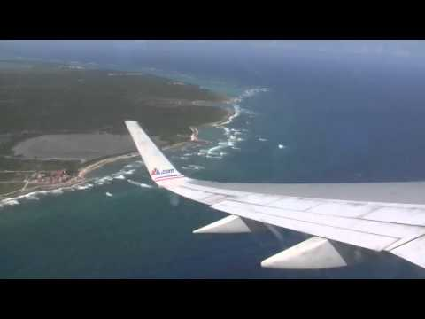 American Airlines 1744. Punta Cana to New York. Part 1.