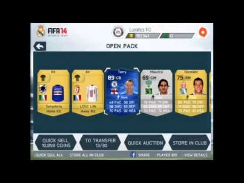 Fifa 14 BEST IOS PACKS EVER!