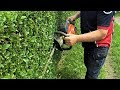 Husqvarna 122HD60 Hedge Trimmer,  Review / In Action