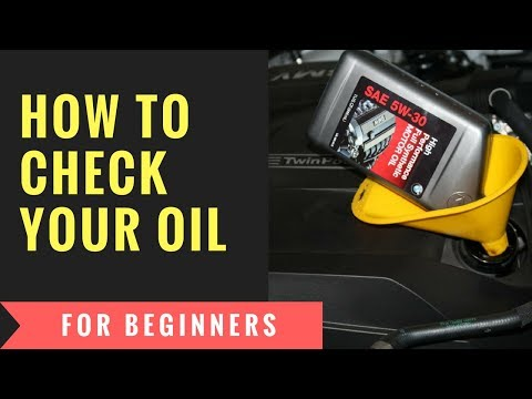 Checking and adding oil to your vehicle for beginners