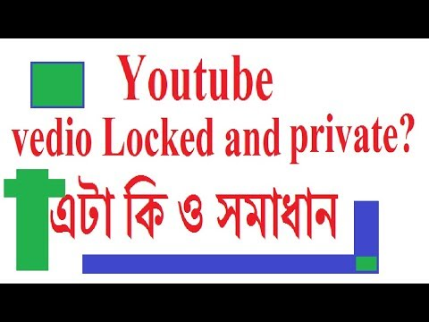 Youtube vedio locked and private problem sovled bangla -its not strike