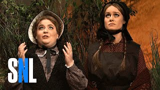 Download Cut for Time: Oregon Trail (Brie Larson) - SNL Video