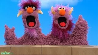 Classic Sesame Street - 2-headed Monster: CHEESE - PakVim