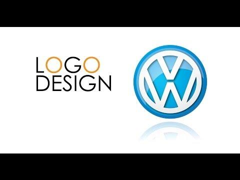 PROFESSIONAL LOGO DESIGN - Illustrator CS6 ( volkswagen logo )