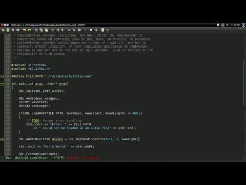 #2 Audio Programming Tutorial: Simple WAV Player