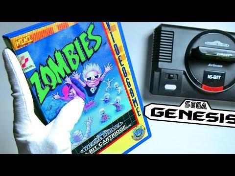 ZOMBIES ON SEGA GENESIS - Unboxing Mega Drive Flashback Retro HD Console