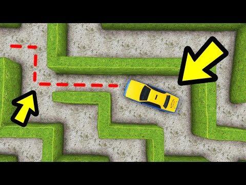 GTA 5 - Can Taxi Drivers Navigate through Mazes?