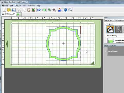 Make the Cut Software - Cutting SVG Files