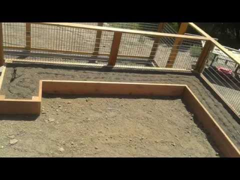 Custom Raised Bed Vegetable Garden & Fence - Stylish and Practical