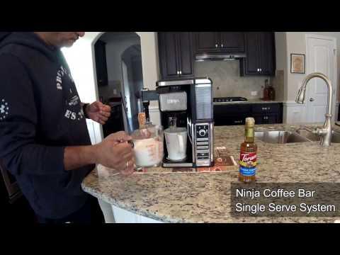 How to make a Caramel Macchiato with a Ninja Coffee Bar