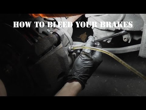 How To Bleed And Flush Your Brakes