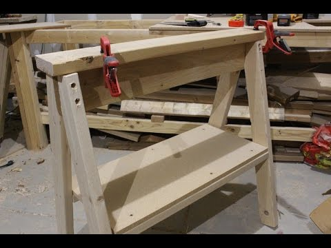 Building a Saw Horse - Preparing to build the Workbench