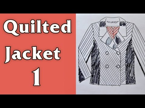 Quilted jacket, part 1/4