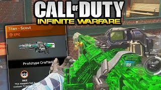 """TITAN - SCOUT"" EPIC WEAPON INFINITE WARFARE! BEST EPIC GUNS IN CALL OF DUTY INFINITE WARFARE!"