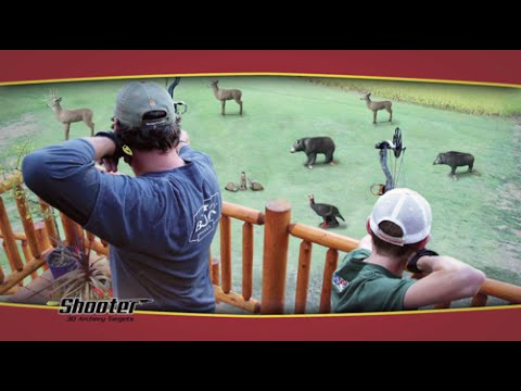 Build your own archery range with Shooter 3D Targets