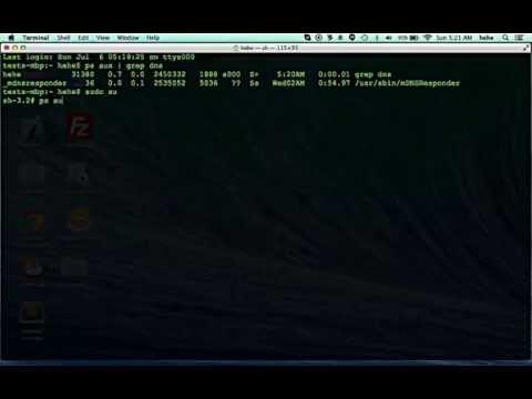 How to Flush/reset Dns on Mac HD