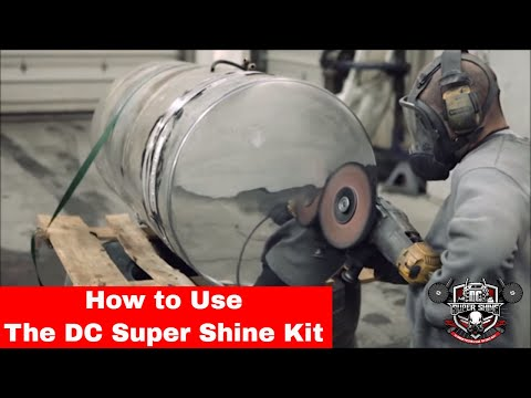 How to polish Aluminum using the DC Super Shine Heavy cut kit.