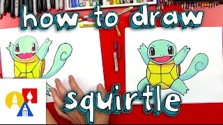 How To Draw Squirtle