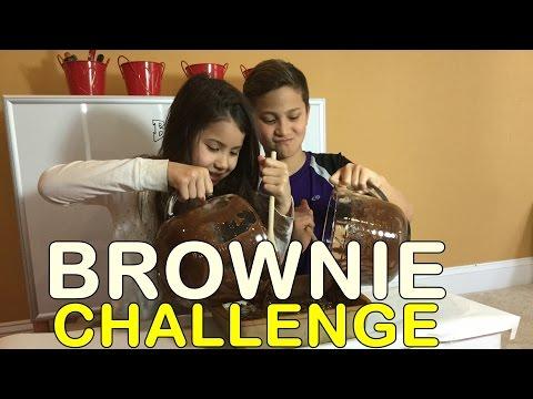 BROWNIE CHALLENGE || Kaden & Kiana