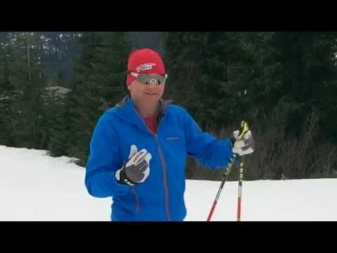 Skate Skiing: V1 Left Side & V1 Right Side, How to Switch Sides