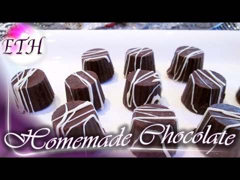 How to Make Homemade Chocolate For Your Kids   Easy Recipe