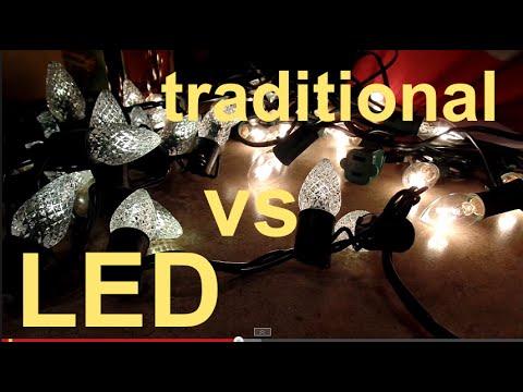 LED Christmas Lights vs Traditional Christmas Lights
