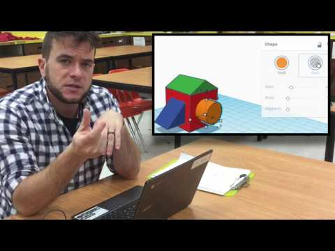TinkerCAD (6) Making Holes and Grouping Shapes