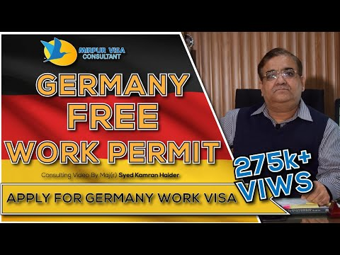 Germany free work permit visa