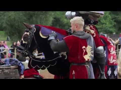 The Knights of Middle England's Rise of the Kingmaker at Warwick Castle 2016