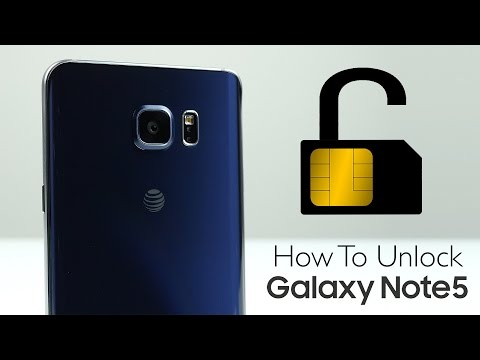 How To Unlock Samsung Galaxy Note 5 - SIM Unlock