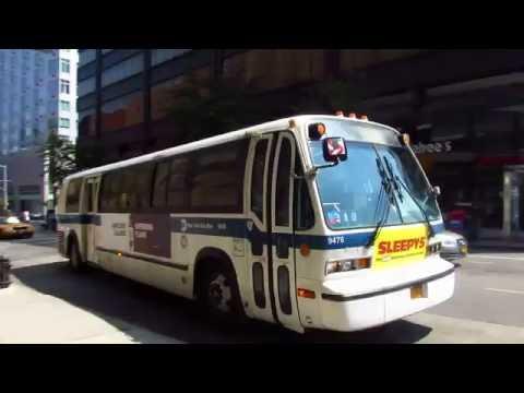 1997 Nova Bus RTS T80-206 #9476 on the B38 at DeKalb Avenue & Flatbush Avenue Extension