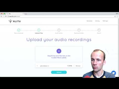 How to Upload your Recordings to Alitu: The Podcast Maker