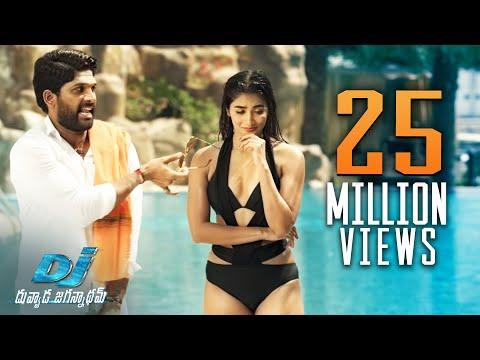 Download Dj Duvvada Jagannadham Scenes Pooja Hegde Swimming Pool Scene Allu Arjun