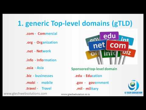 How to Choose a Domain Suffix or TLD, Domain Name Ideas & Tips Tamil | Gopinath G Tech Education