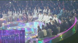 Download 181201 IDOLS Reaction to WannaOne ″BEST RECORD OF THE YEAR″ (워너원 올해의레코드 대상 가수석 리액션) 4K 직캠 by 비몽 Video