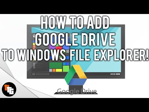 Google drive on Windows 10 File Explorer! 2017!