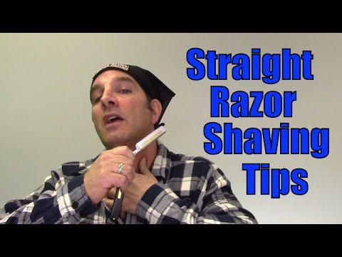Straight Razor Shaving Tips to Shave Better