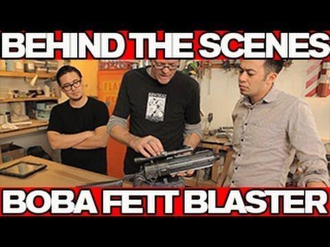 Behind the Scenes - BUILDING THE STAR WARS BOBA FETT BLASTER
