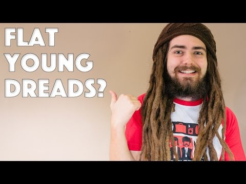 FLAT Young Dreads?