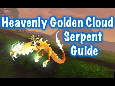 Heavenly Golden Cloud Serpent Mount Guide (World of Warcraft)