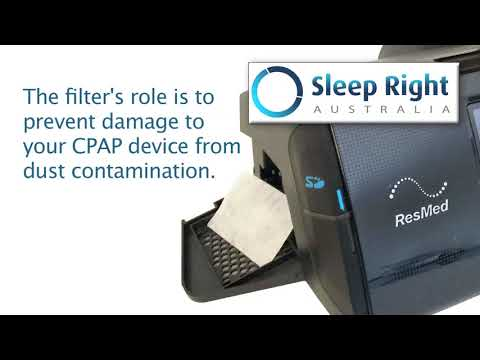 How to change your ResMed AirSense 10 Air Filter