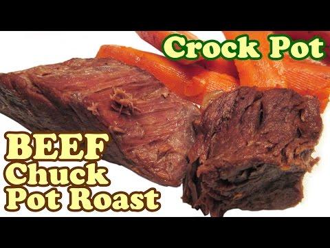 How To Cook Beef Chuck Pot Roast Crock Pot Recipes Crockpot Recipe Slow Cooker Dinner Ideas Jazevox
