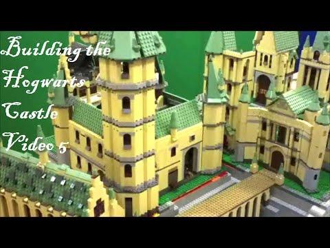 LEGO Harry Potter Hogwarts - Building the Hogwarts Castle - Video 5