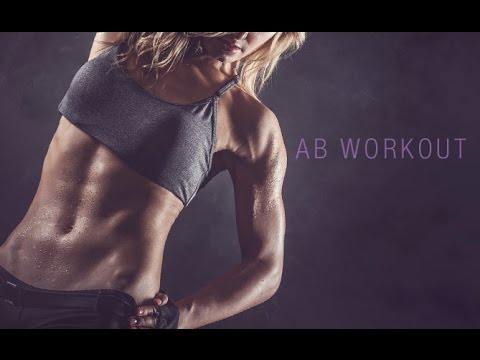 Core Workout for Women (TIGHTEN THE ABS WITH WEIGHTS!!)
