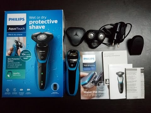 How to Change Blades of Philips S5060/06 AquaTouch Shaver